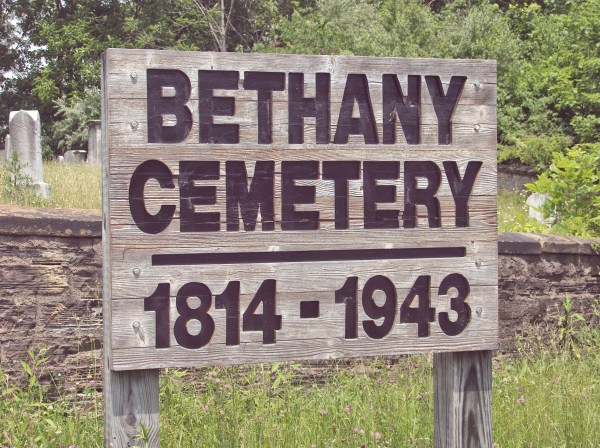 File Bethany Cemetery Sign - Wikimedia Commons
