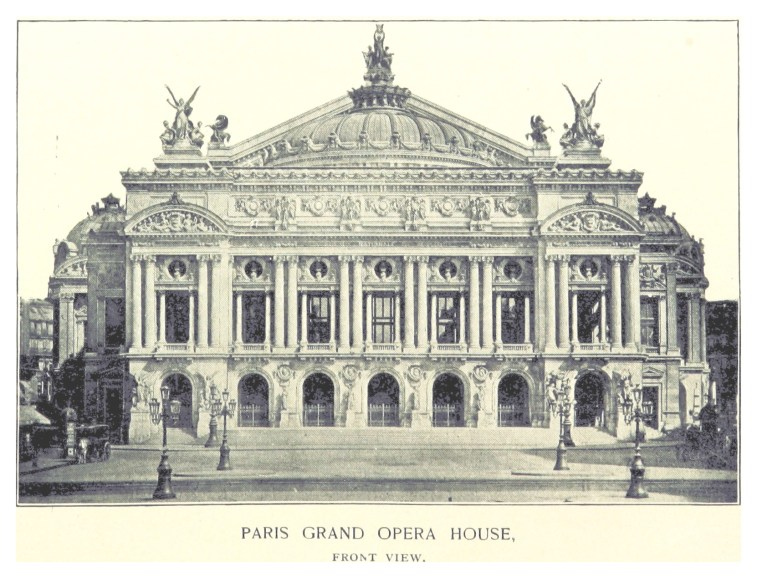 Paris Grand Opera House, 1891