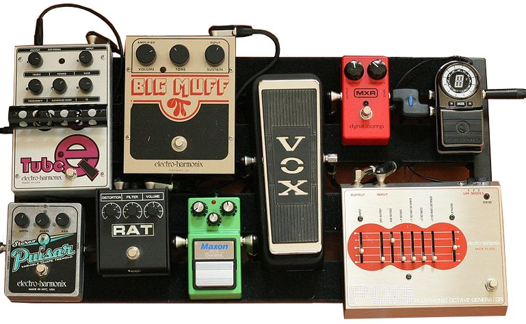 Image result for guitar pedals