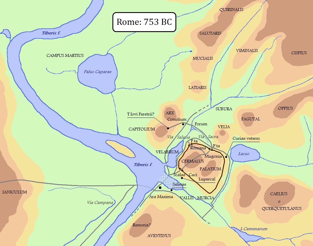 Foundation And Monarchy 753 Bc 509 Bce
