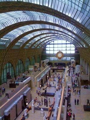 English: Orsay Museum, Paris, main.