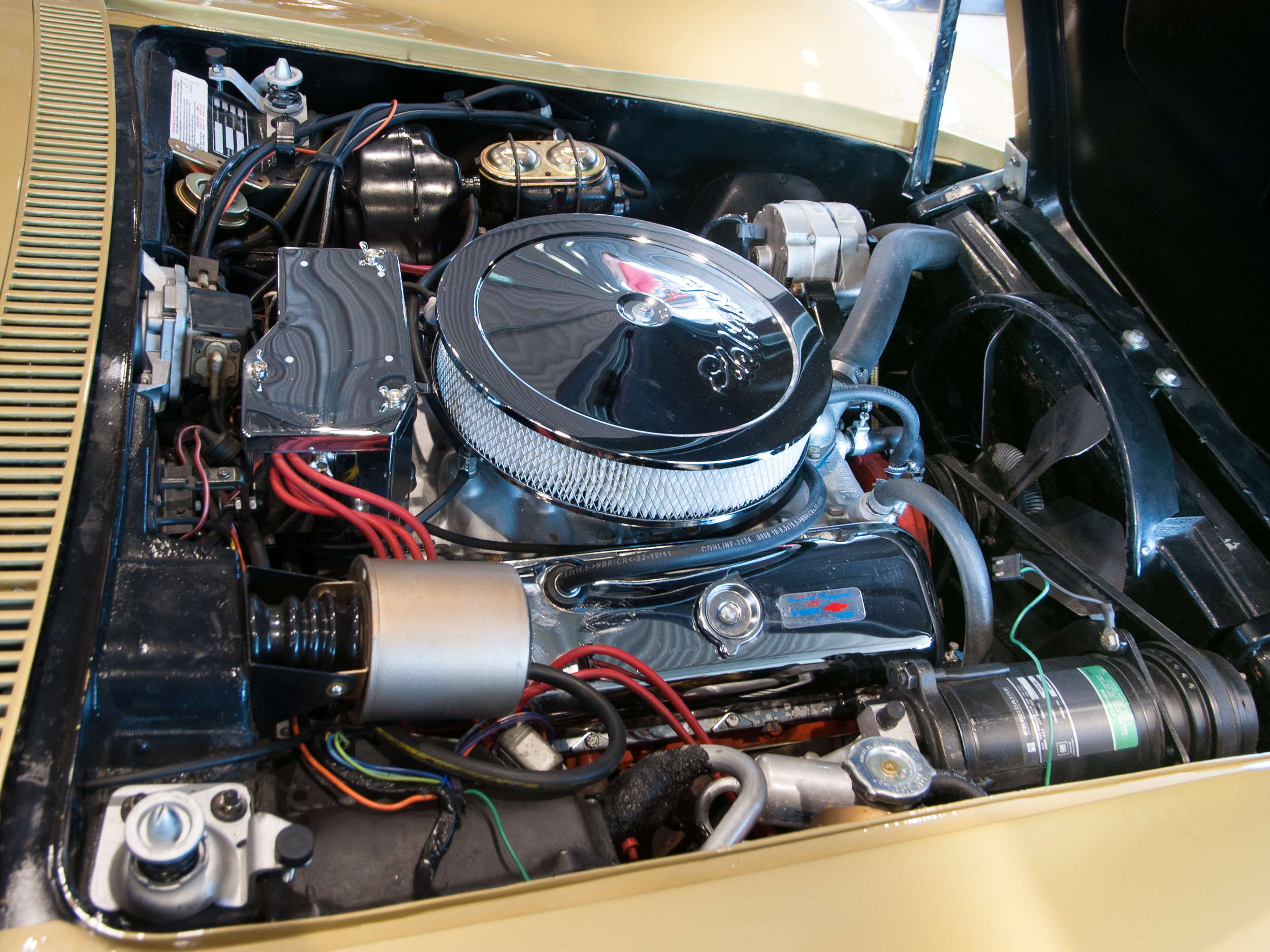 350 chevy engine diagram online kenwood model kdc wiring 1977 corvette compartment pictures to pin on pinterest - pinsdaddy