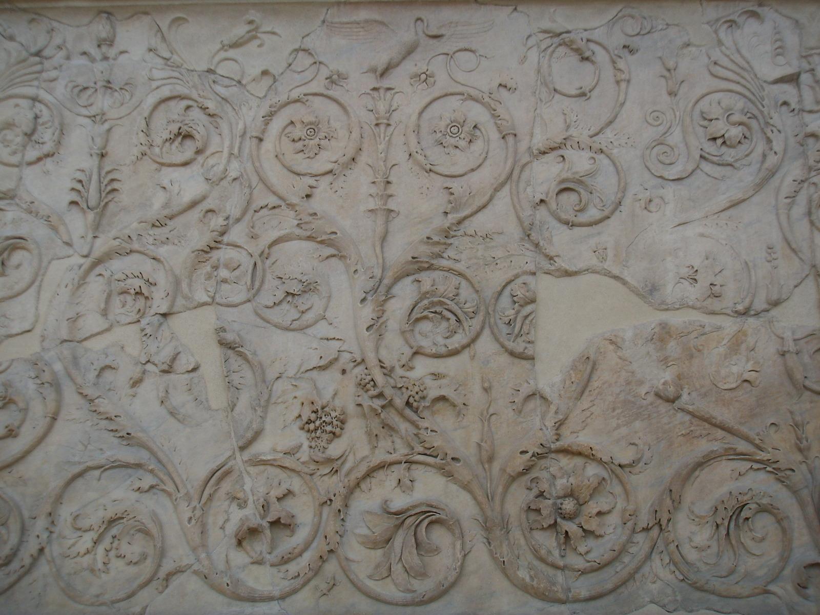 FileAra pacis fregio lato ovest voluteJPG  Wikimedia
