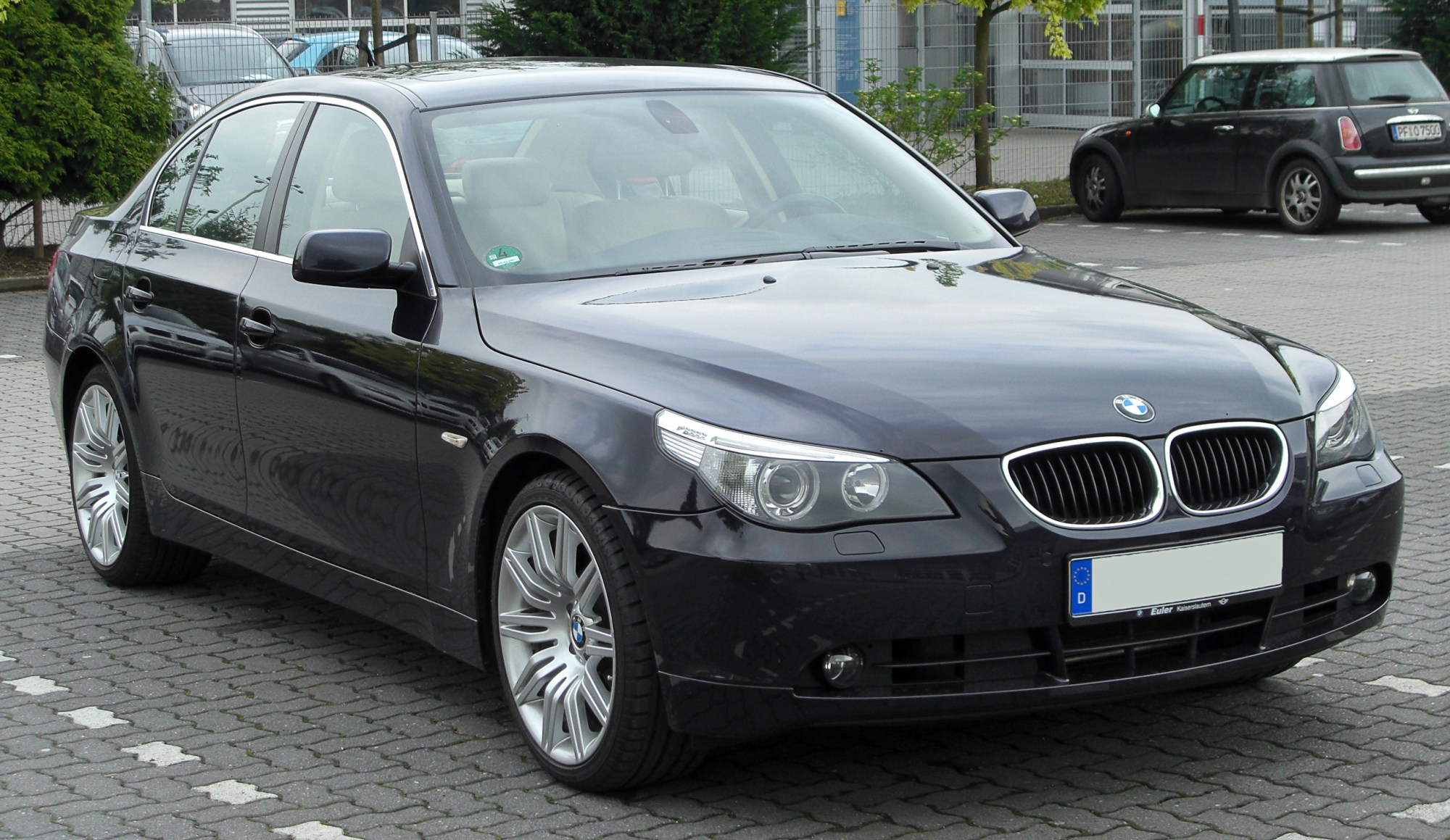 hight resolution of bmw 5 series e60
