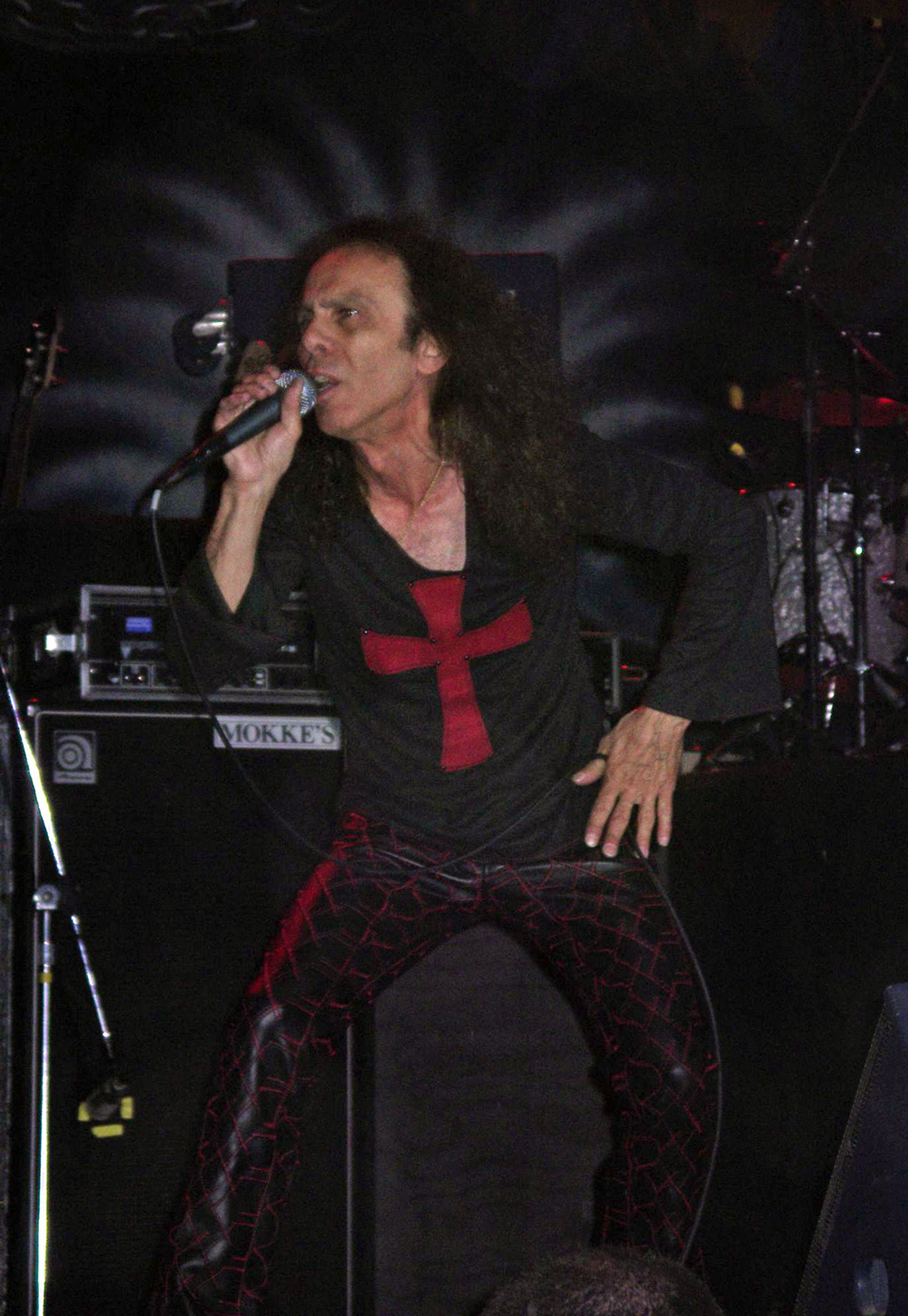 Ronnie James DIo at the IronFest 2005