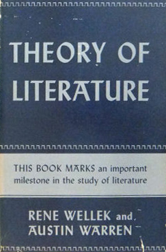 Theory of Literature  Wikipedia