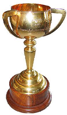 The 1976 cup that was won by Van Der Hum.