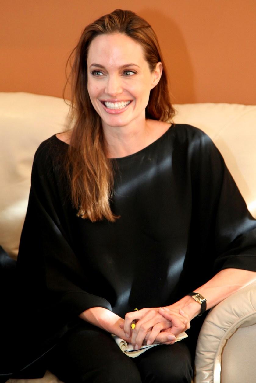 Angelina Jolie In Saree