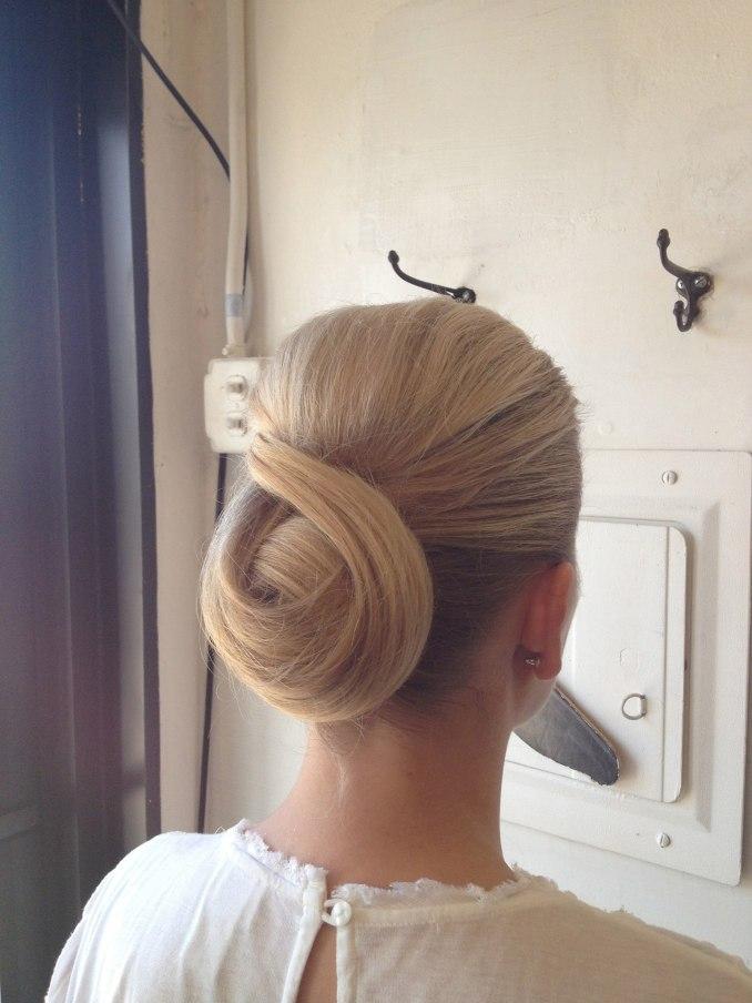 chignon (hairstyle) - wikipedia