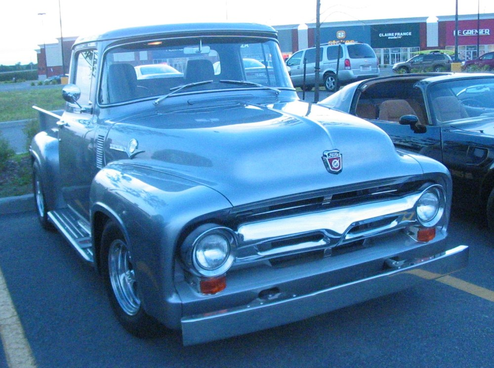 medium resolution of 1956 ford f 100