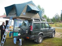 Land Rover Discovery Roof Tent | Car Interior Design