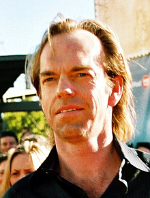 Hugo Weaving at the World premiere of the thir...
