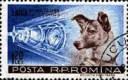 Laika Stamp