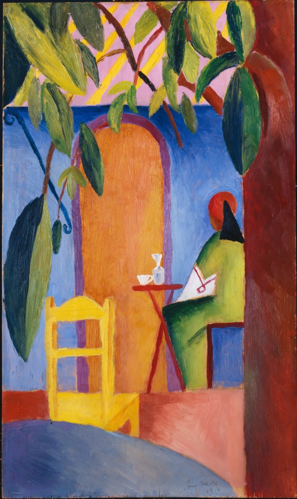Turkish August Macke Cafe