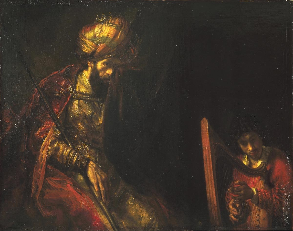 Rembrandt: Saul and David.
