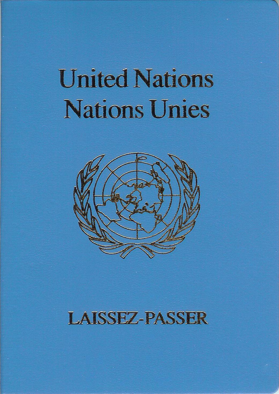 United Nations laissezpasser  Wikipedia