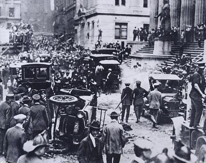 Wall Street Bomb