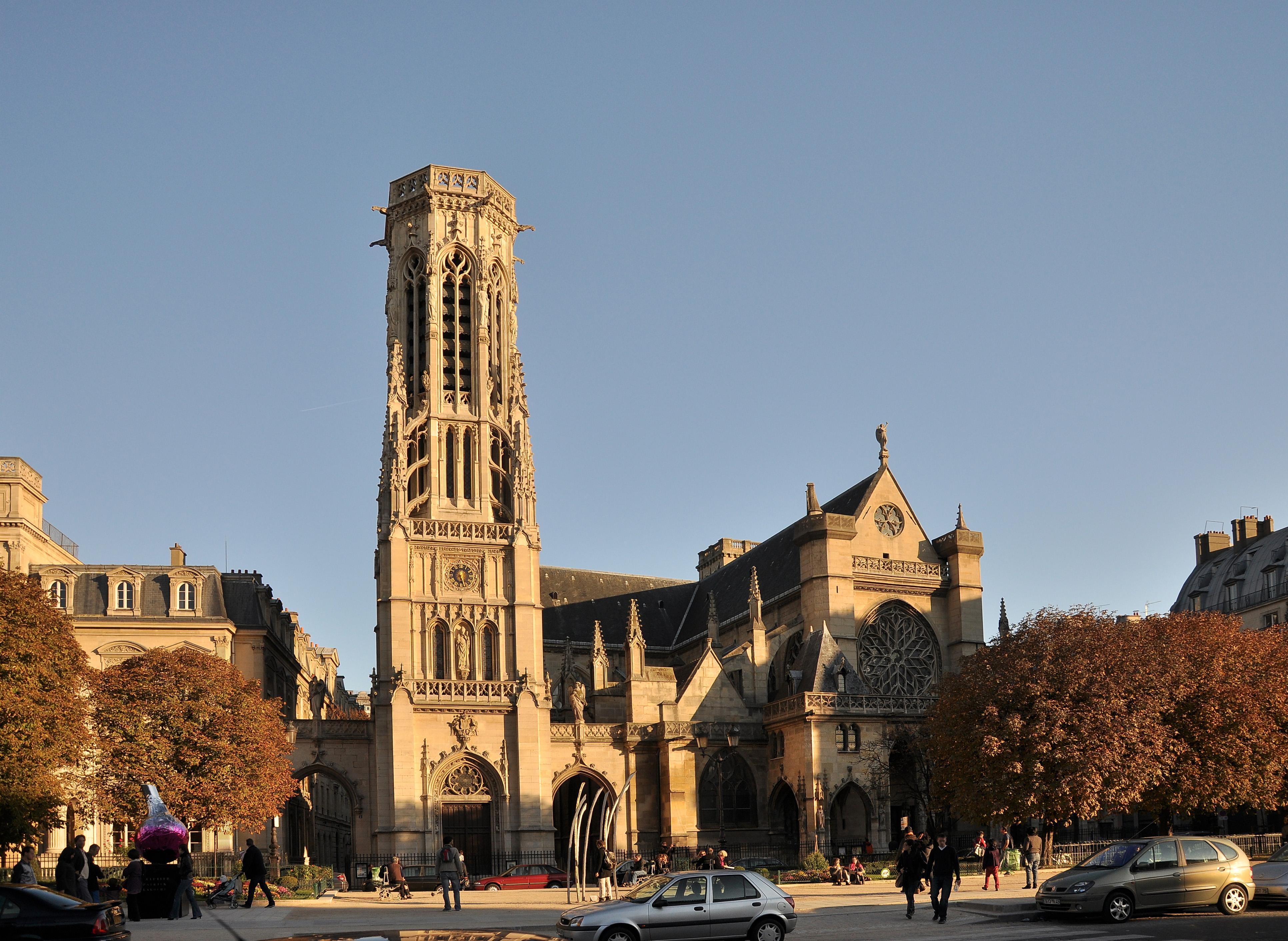 the Église Saint-Germain l'Auxerrois