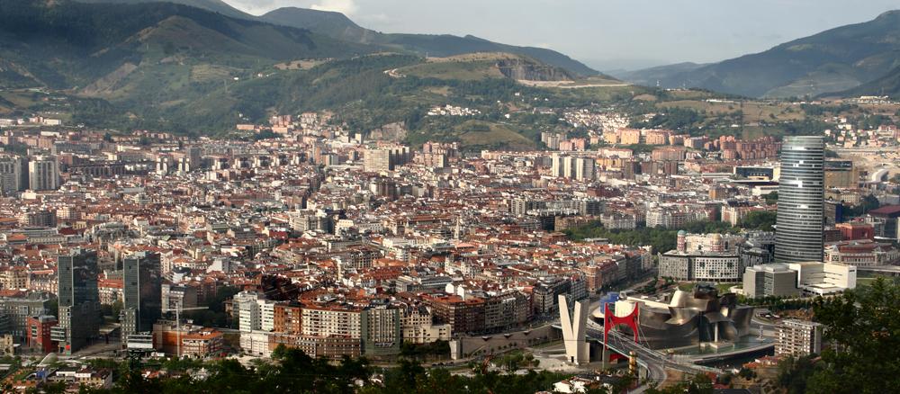Bilbao. Vue oblique