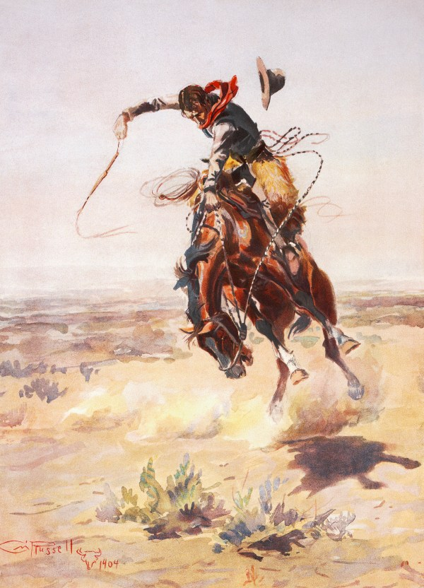 Charles Russell Cowboy Art Prints