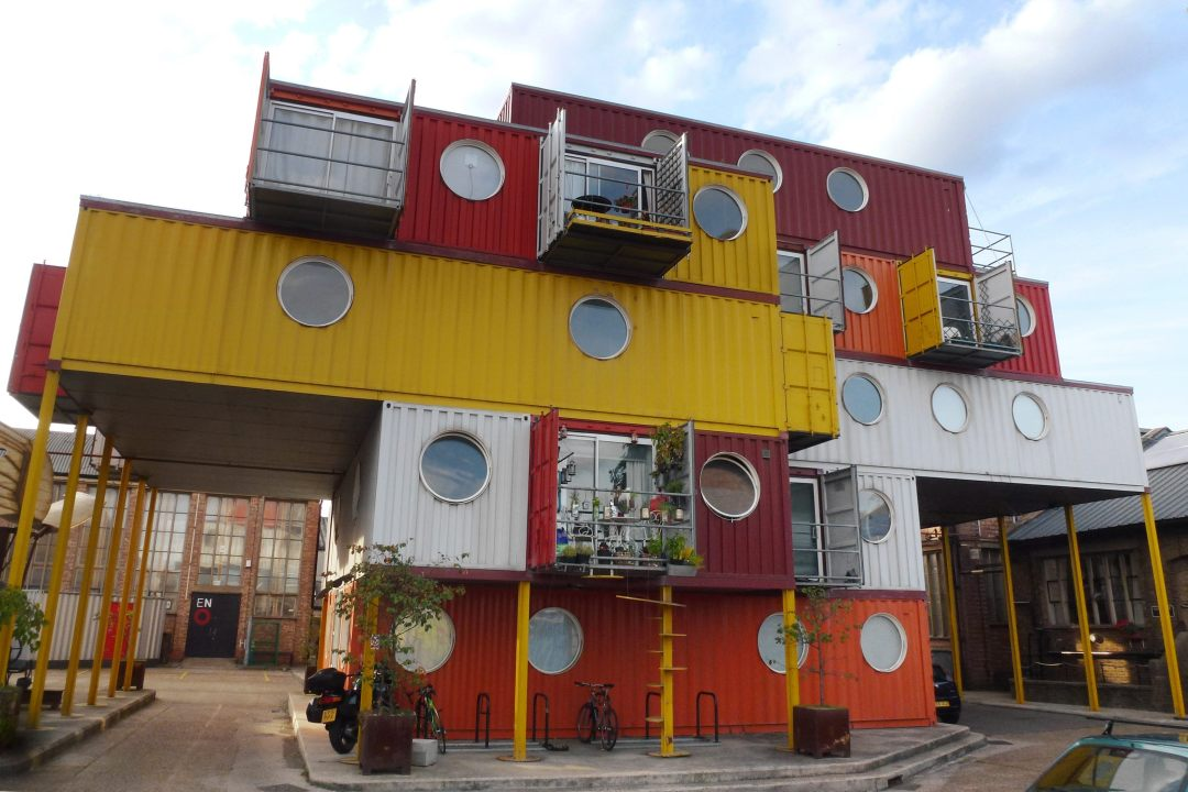 Container City, Leamouth