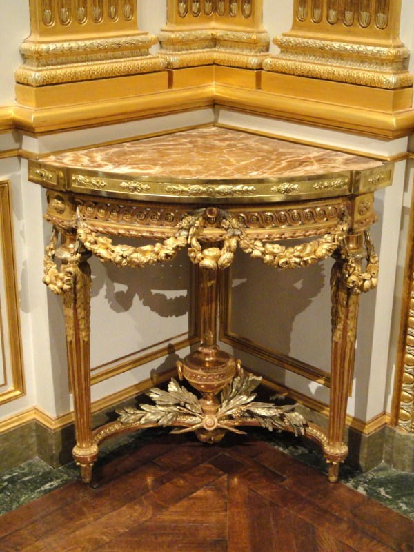 File Corner Table Jean-francois-therese Chalgrin 1770