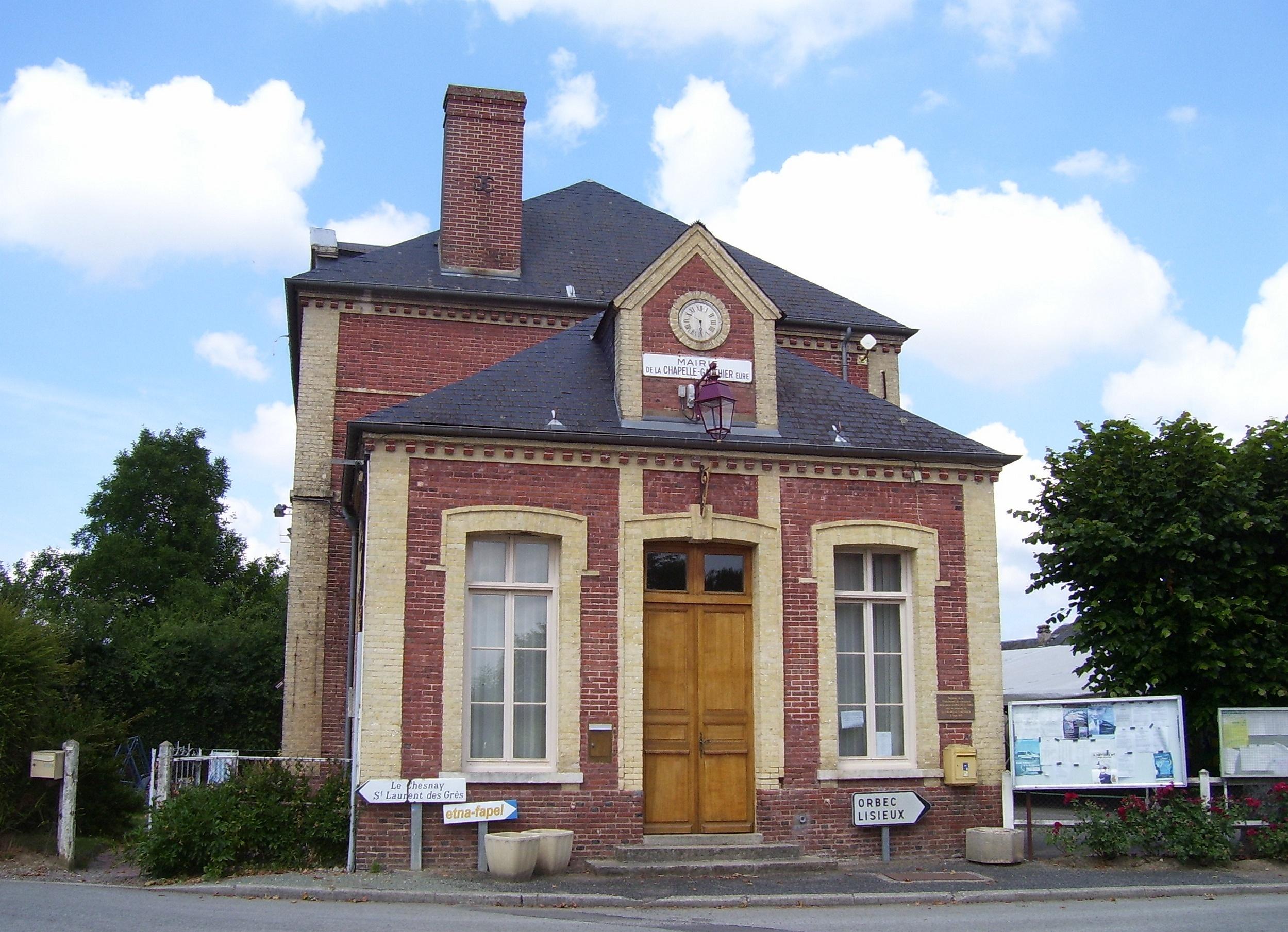 mairie la chapelle-gauthier
