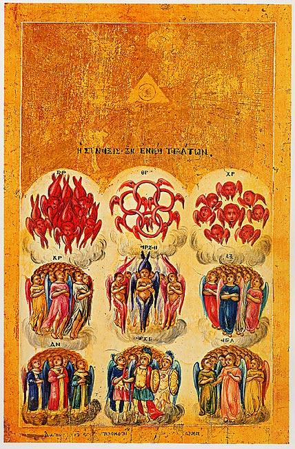 Ange Qui Passe 5 Lettres : passe, lettres, Hiérarchie, Céleste, Wikipédia