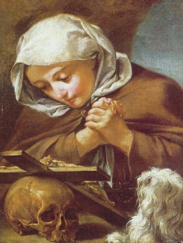 English: Saint Margaret in penitence