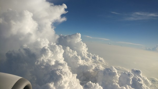 FileA scenic view of clouds from plane windowjpg