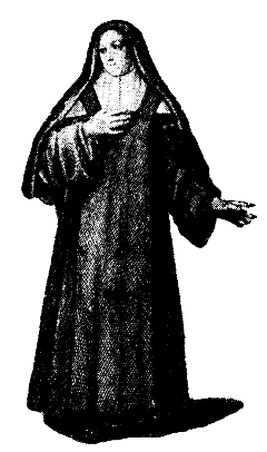 "A ""bare foot"" Carmelite nun"