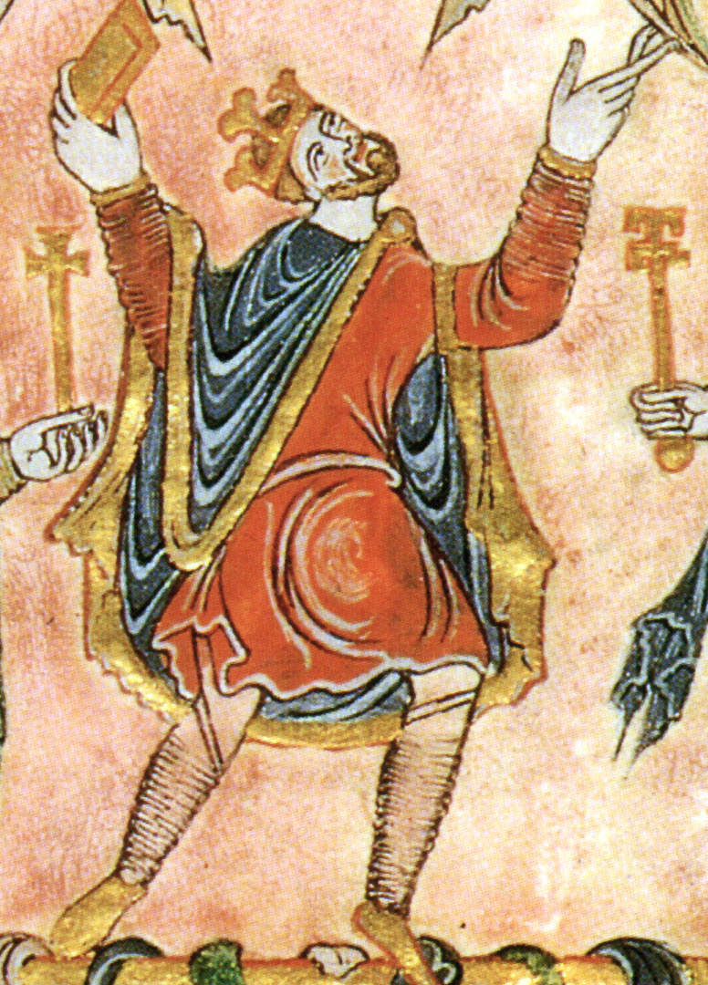 King Edgar of England, 959–975.