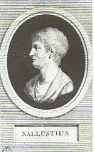 Ο Γάιος Σαλλούστιος Κρίσπος ήταν Ρωμαίος ιστορικός και πολιτικός από ιταλική πληβεία οικογένεια και  ήταν αντίπαλος της παλαιάς ρωμαϊκής αριστοκρατίας.