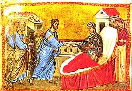File:Athos-Evangeliar Heilung der Schwiegermutter.jpg