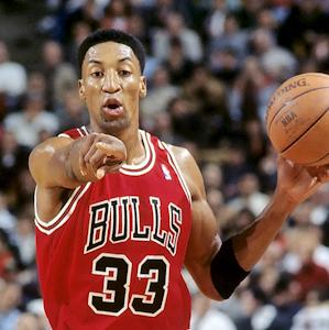 Chicago Bulls Scottie Pippen 1995