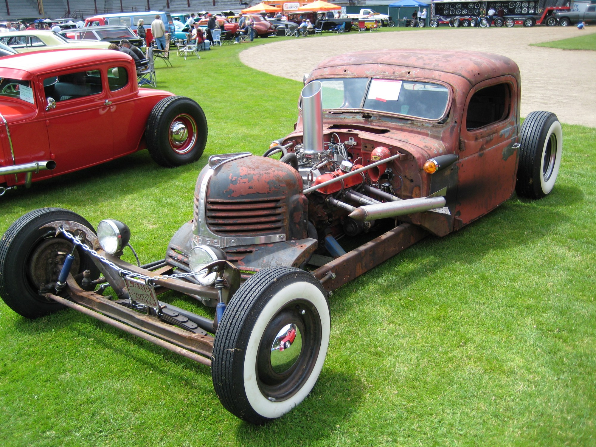 hight resolution of thread legalizing a rat rod in ontario