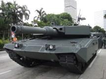 Singapore Leopard 2 Tank
