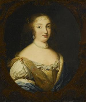 Élisabeth (Isabelle) d'Orléans, Duchess of Guise by Rioult.jpg