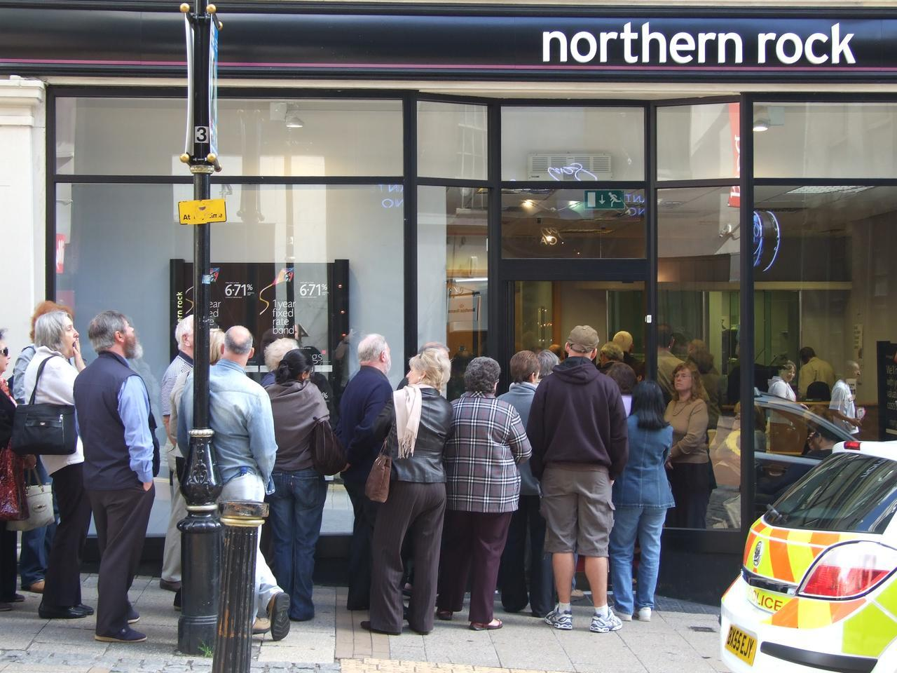 Northern Rock: an early casualty of the financial crisis
