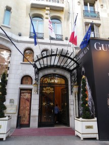 Marriott Champs Elysees Hotel Paris France