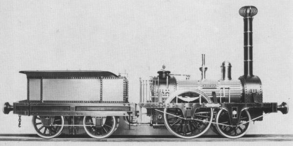 Early Steam Locomotives