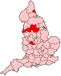 The Metropolitan Counties of England 1974-1986