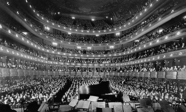 The Old Metropolitan Opera House Inside