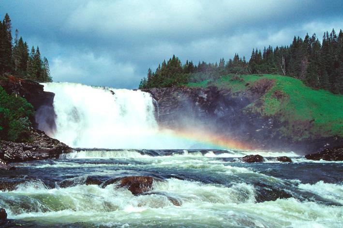 Tannforsen Wasserfall