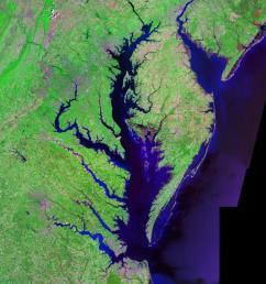 chesapeake bay watershed diagram [ 1024 x 768 Pixel ]