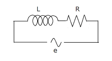 File:Diagram of a circuit with resistor and inductance.png