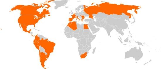 Il gruppo Enel nel mondo (wikipedia)