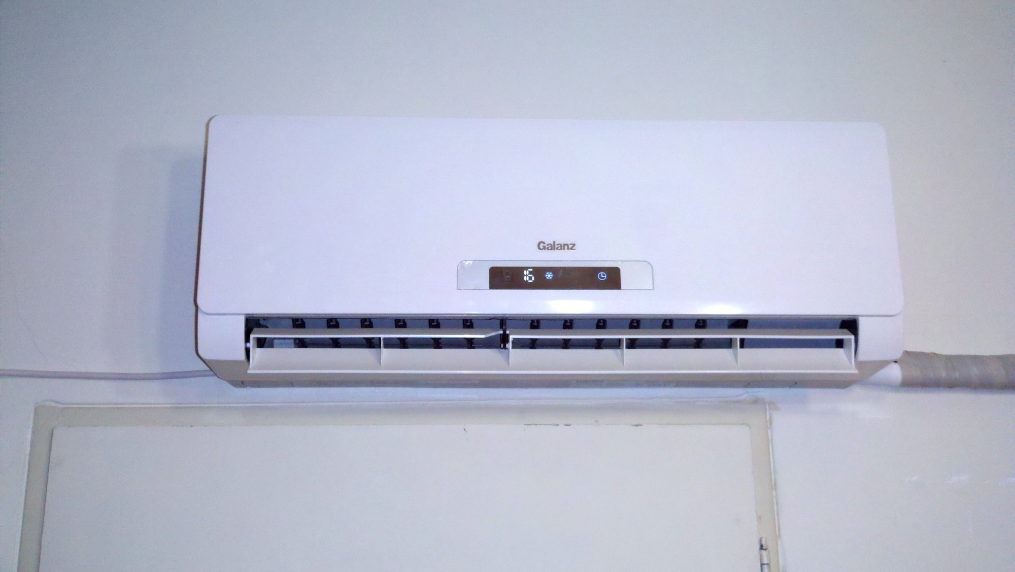 hight resolution of indoor part of a ductless split type air conditioner