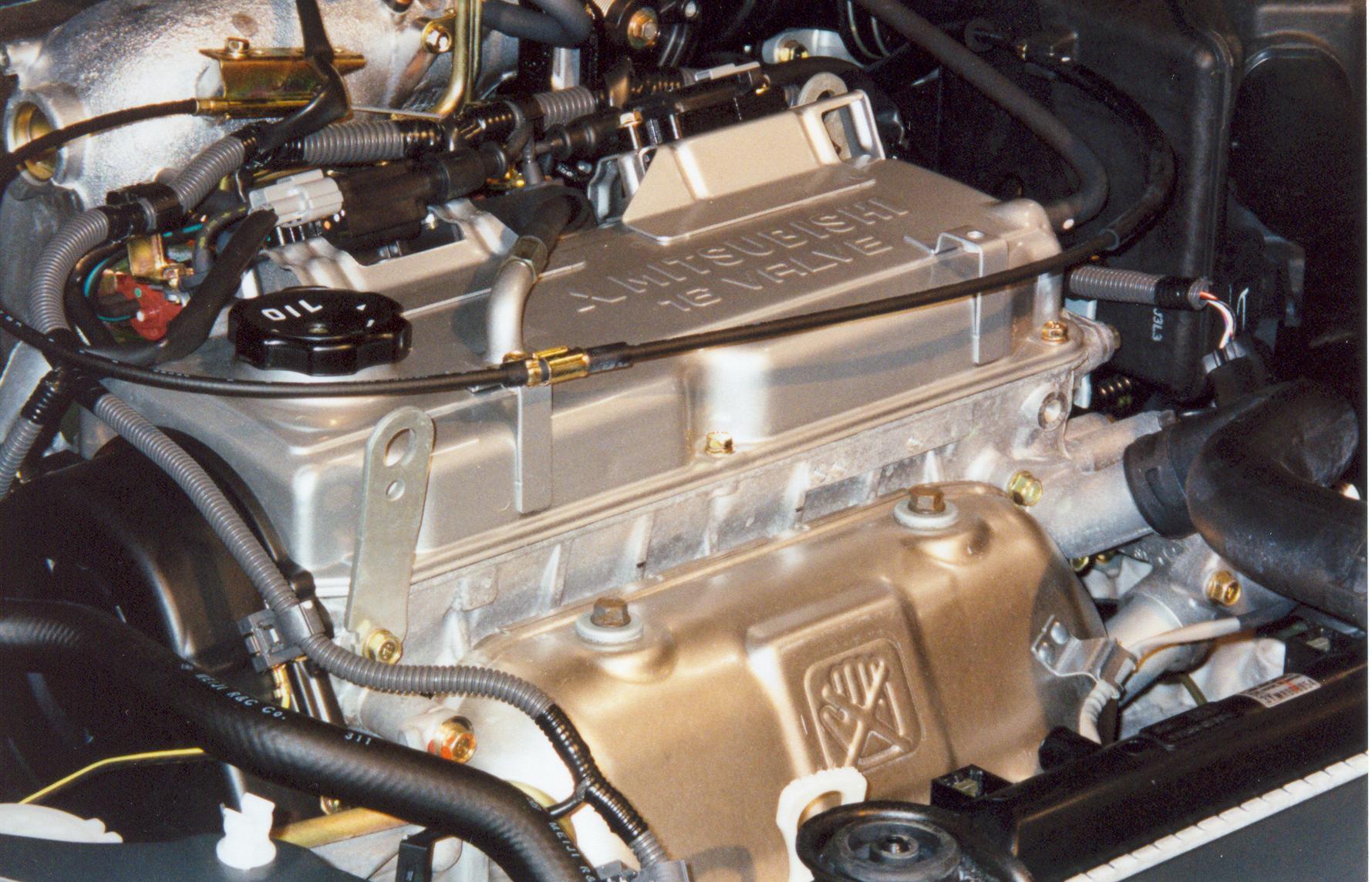hight resolution of mitsubishi 4g9 engine