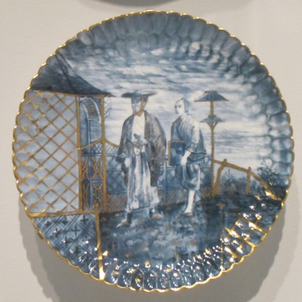 File Plate . T. Copeland & Sons Soft-paste Porcelain With Gilding Honolulu Museum Of Art